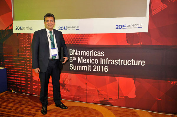 Pacadar in BNamericas infrastructure Summit 2016