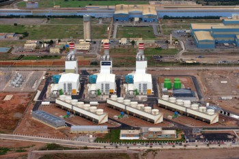 Cooling Tower in Sagunto, Valencia (Spain)