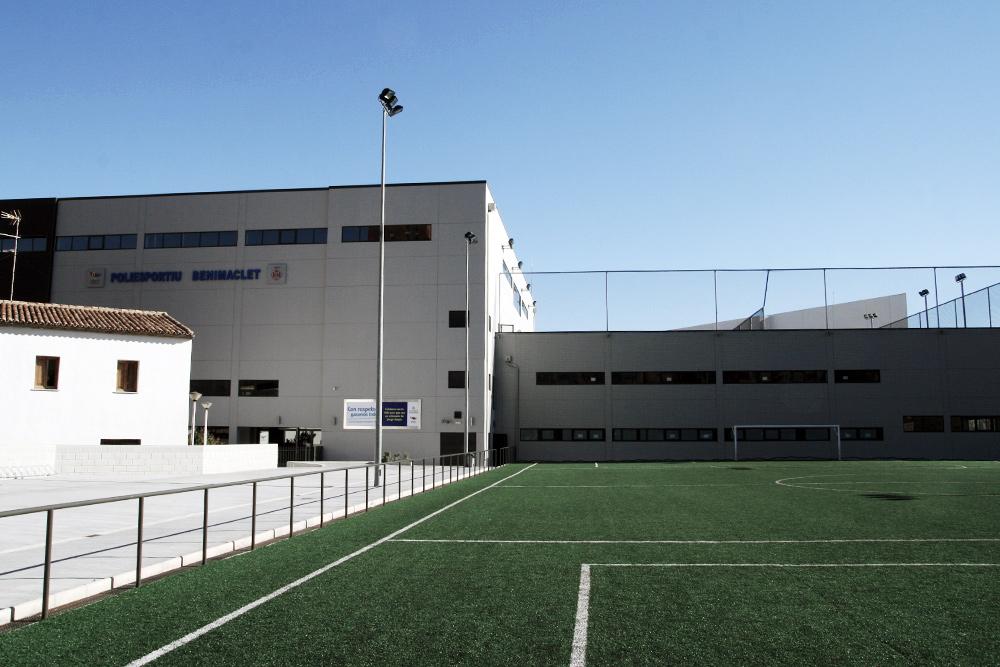 Sports Centre In Benimaclet, Valencia (Spain)
