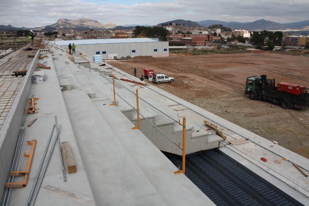 Sports Centre in Monóvar, Alicante (Spain)