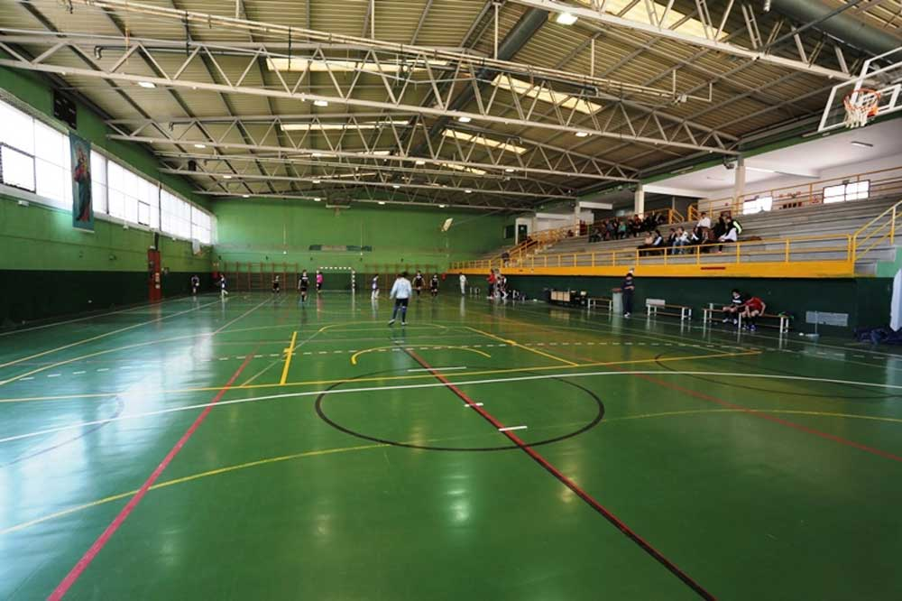 Sports Centre In Salesian School, Madrid (Spain)