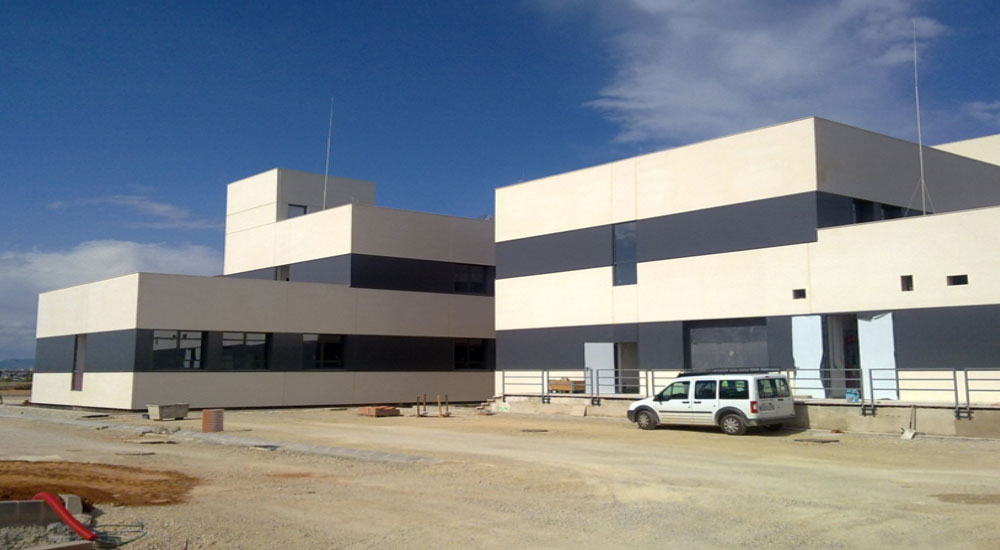 Valencia Airport Buildings (Spain)