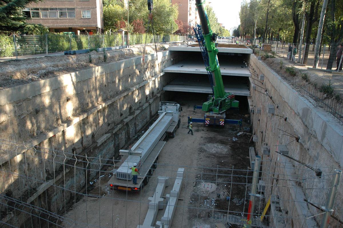 Underground Car Park In Torrejón De Ardoz, Madrid (Spain)